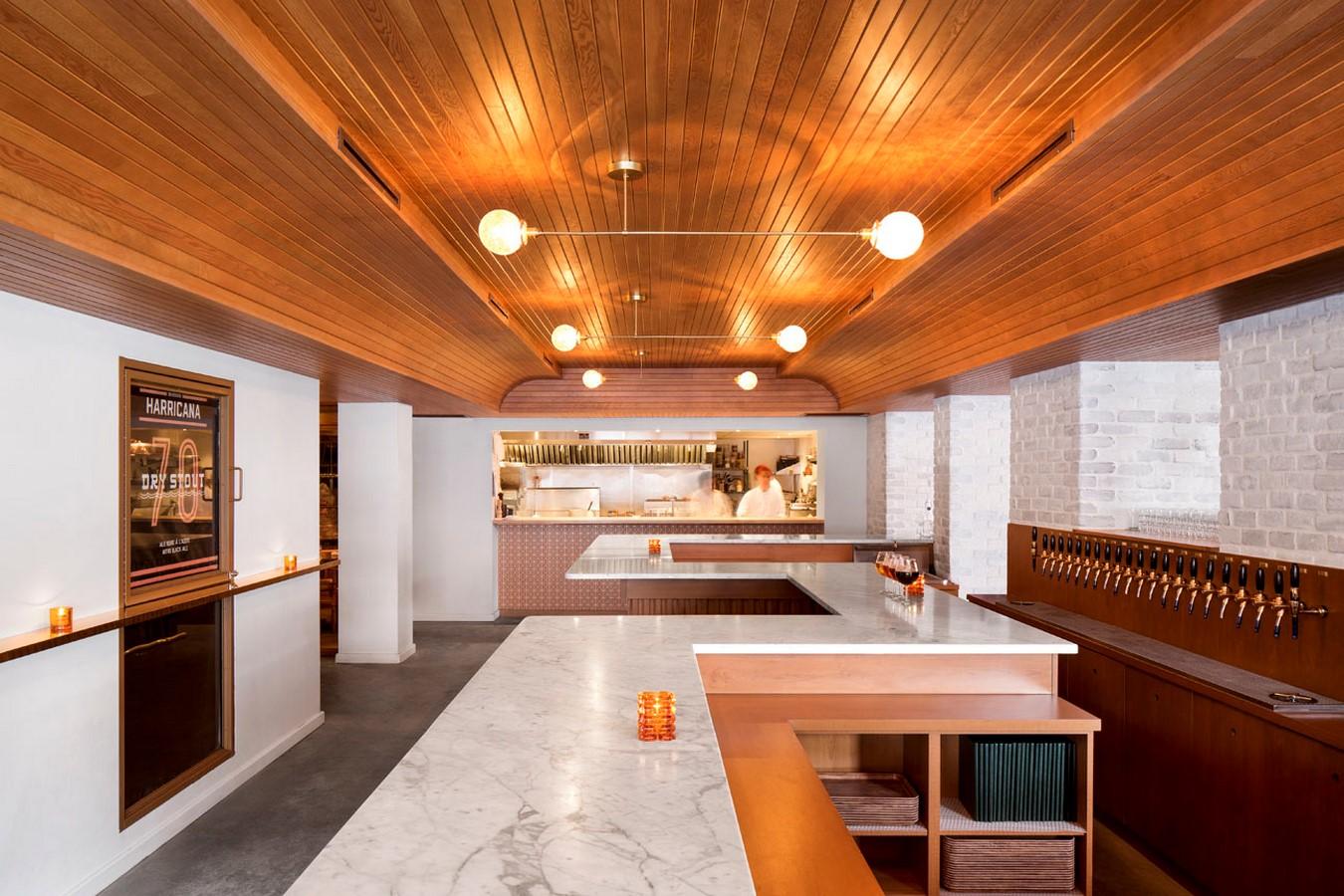Brasserie Harricana by Alain Carle Architecte Inc - Sheet1