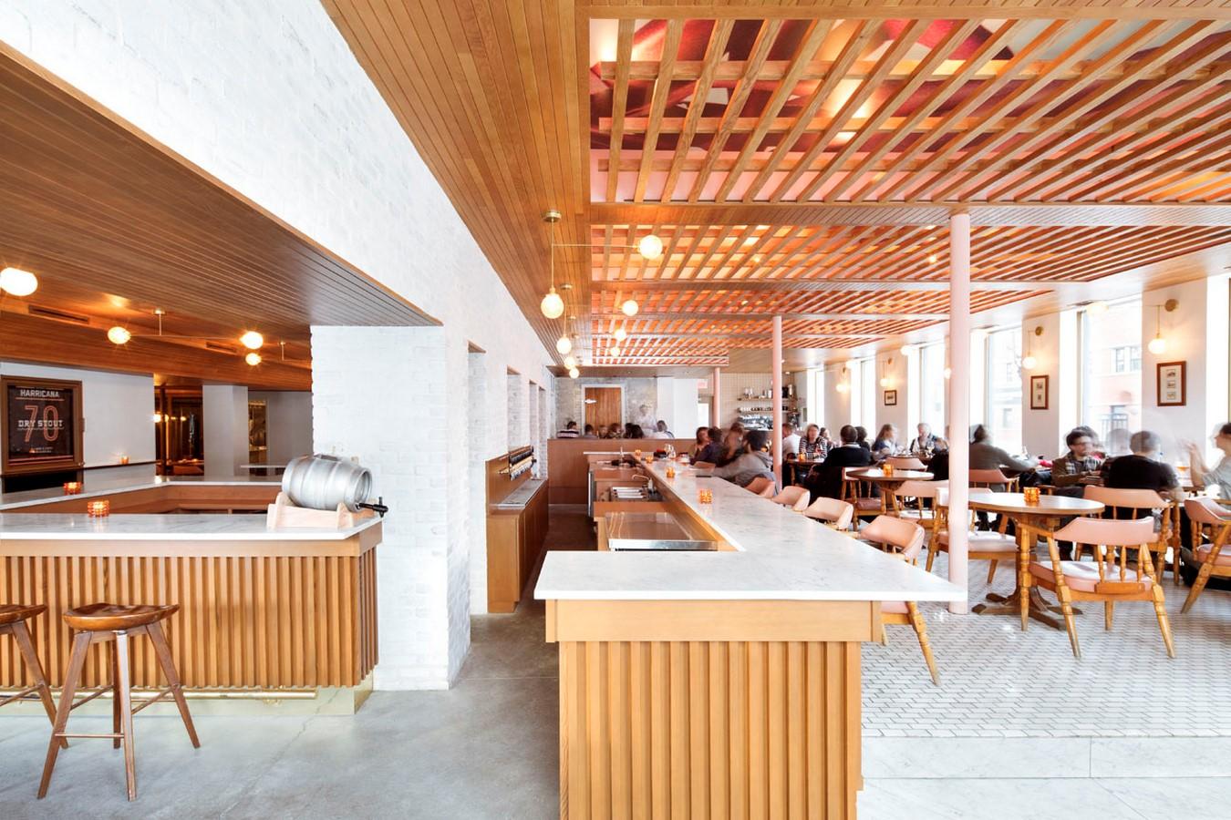 Brasserie Harricana by Alain Carle Architecte Inc - Sheet2