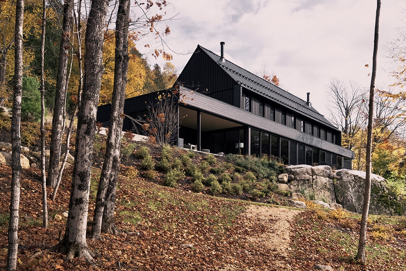 MTR residence by Alain Carle Architect - Sheet2