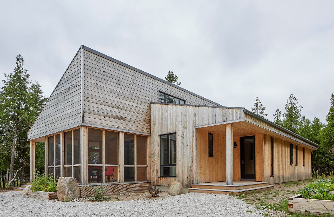 Manitoulin Island Off-Grid House by Solares Architecture - Sheet1