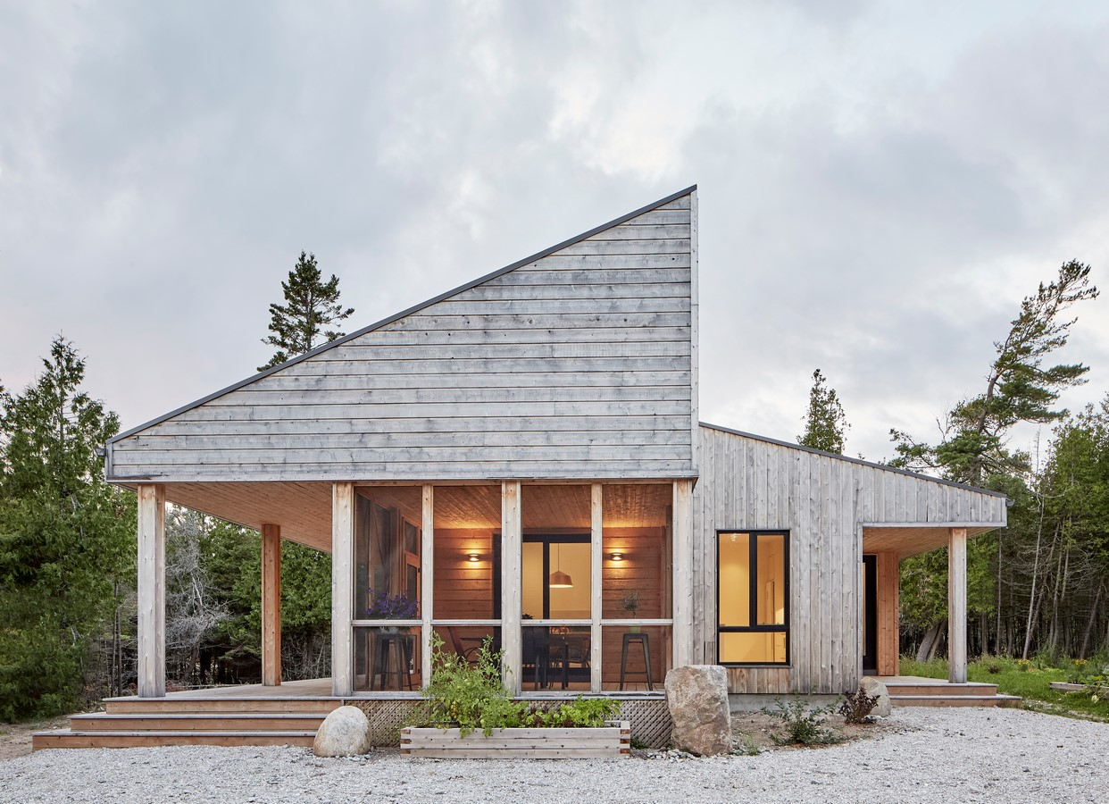 Manitoulin Island Off-Grid House by Solares Architecture - Sheet3