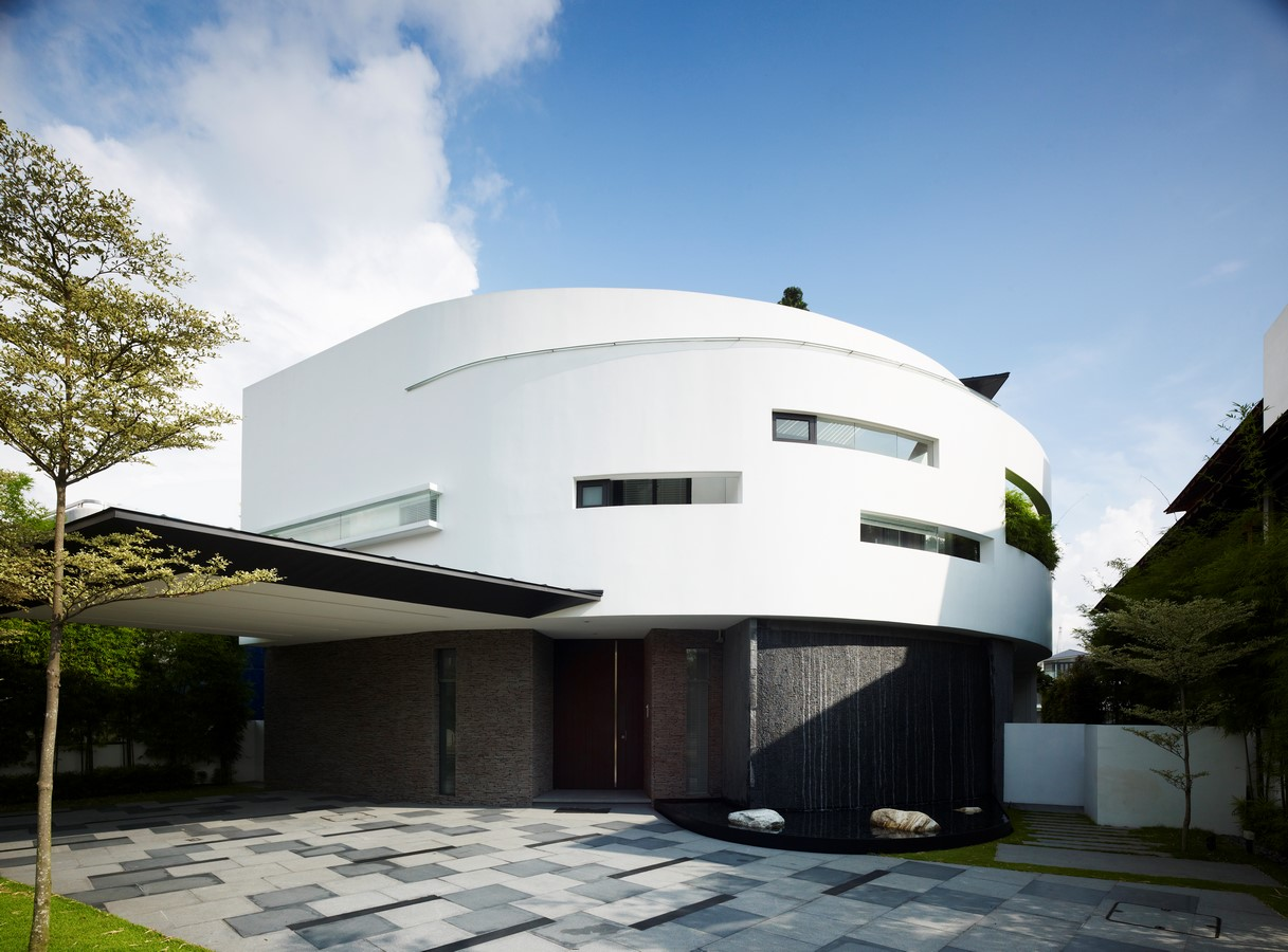 Boomerang House by Aamer Architects - Sheet1