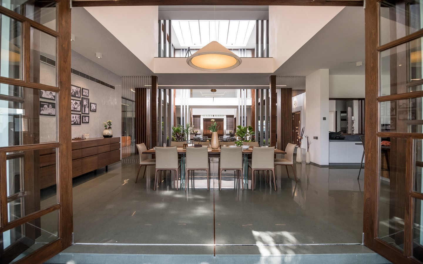 The Courtyard House by Associated Architects Pvt. Ltd - Sheet2
