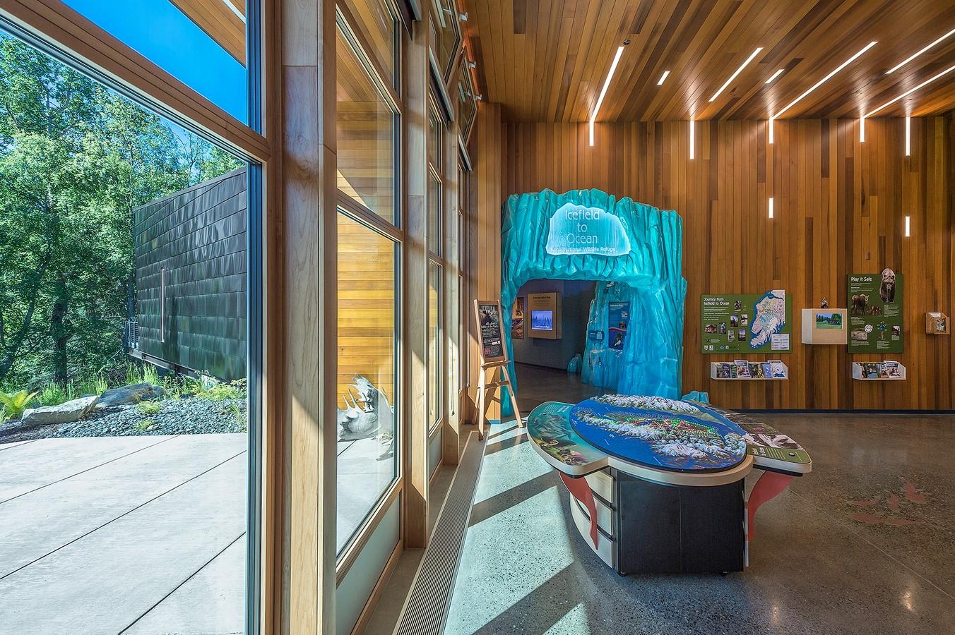Kenai National Wildlife Refuge Visitor Center by Cameron - Sheet2