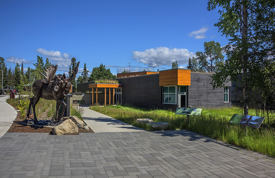 Kenai National Wildlife Refuge Visitor Center by Cameron MacAllister Group
