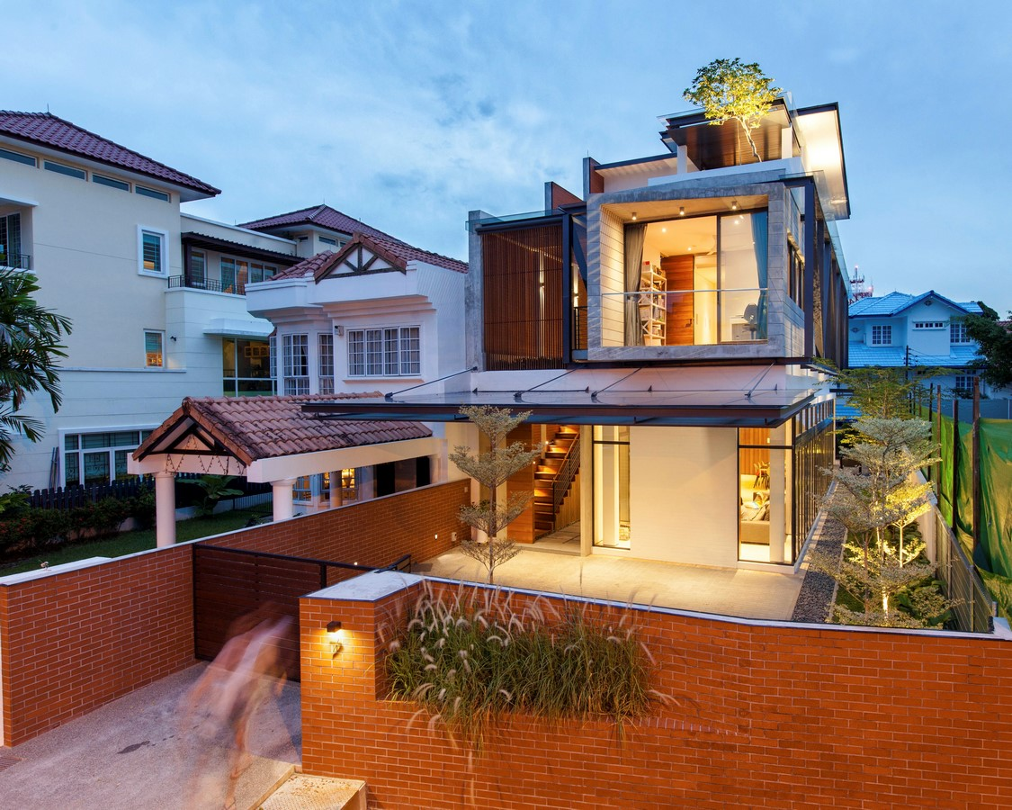 Railway House by Aamer Architects - Sheet1