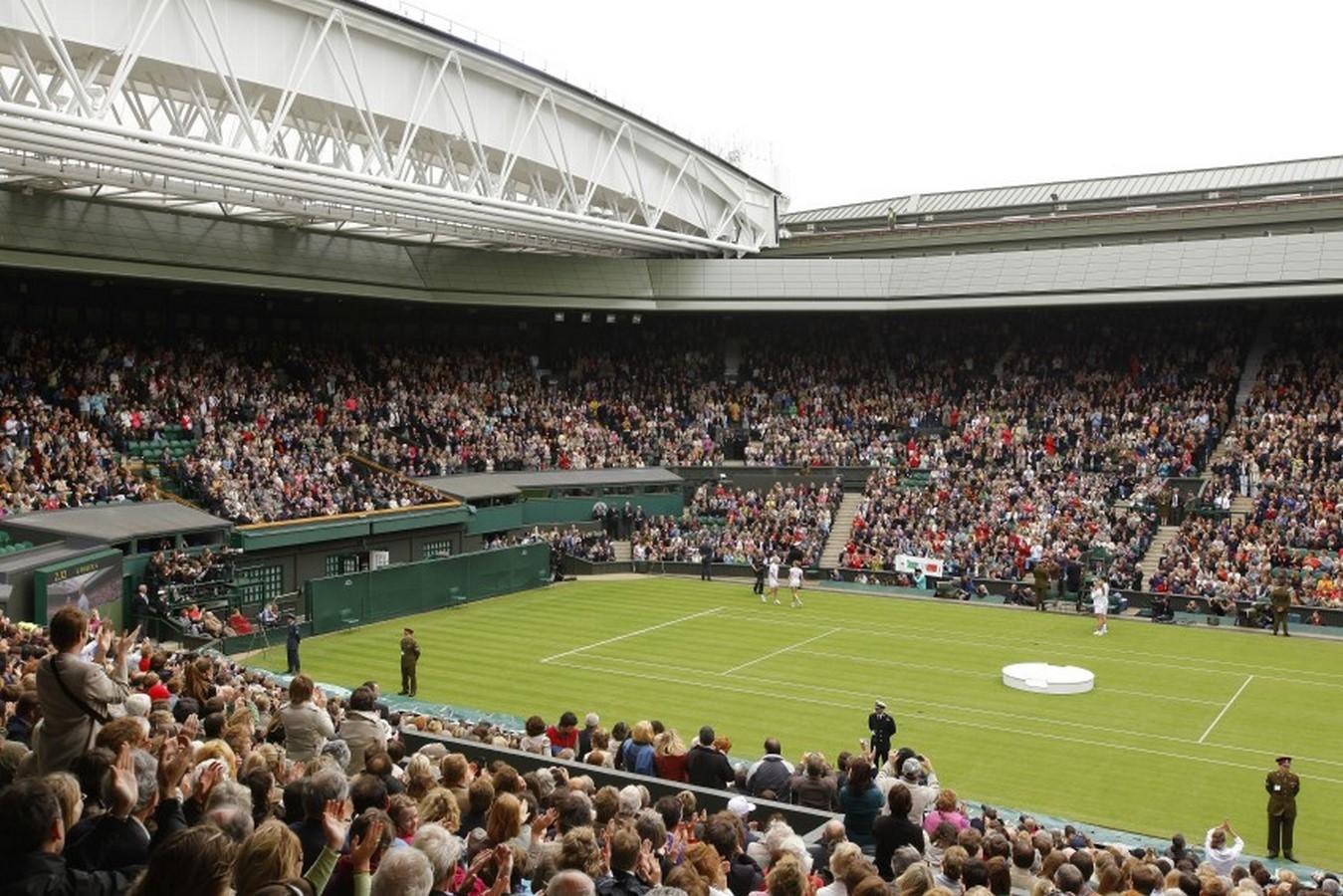 Wimbledon Centre Court - Sheet1
