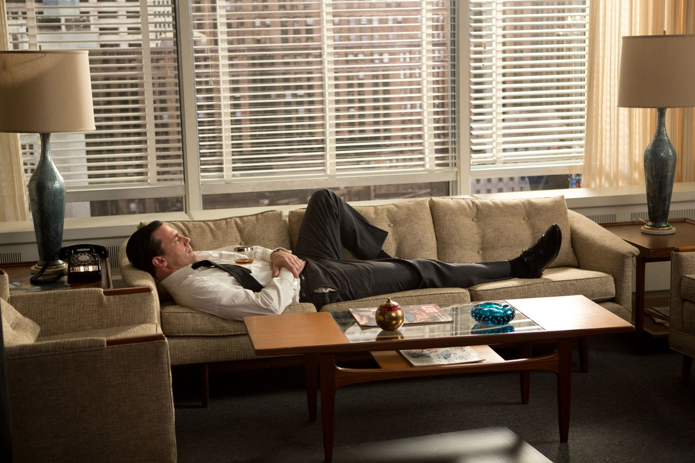 An architectural review of Mad Men - Sheet1