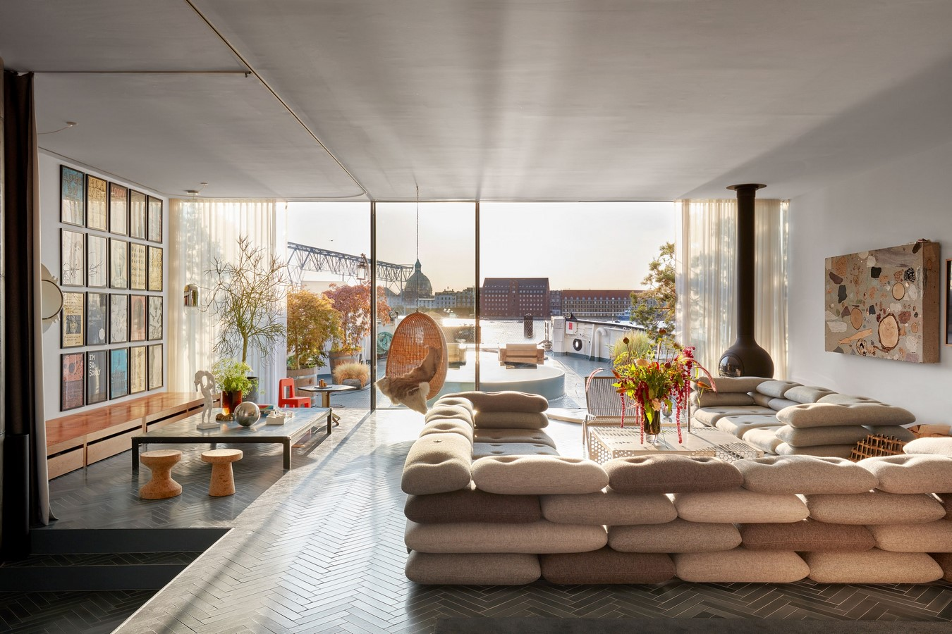 A look inside Bjarke Ingels's Innovative Houseboat - Sheet3