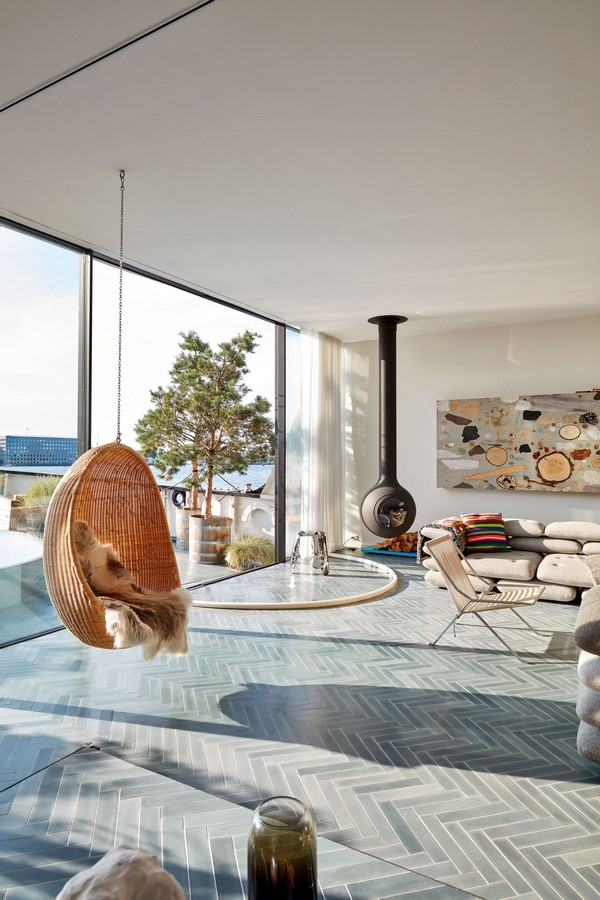 A look inside Bjarke Ingels's Innovative Houseboat - Sheet6