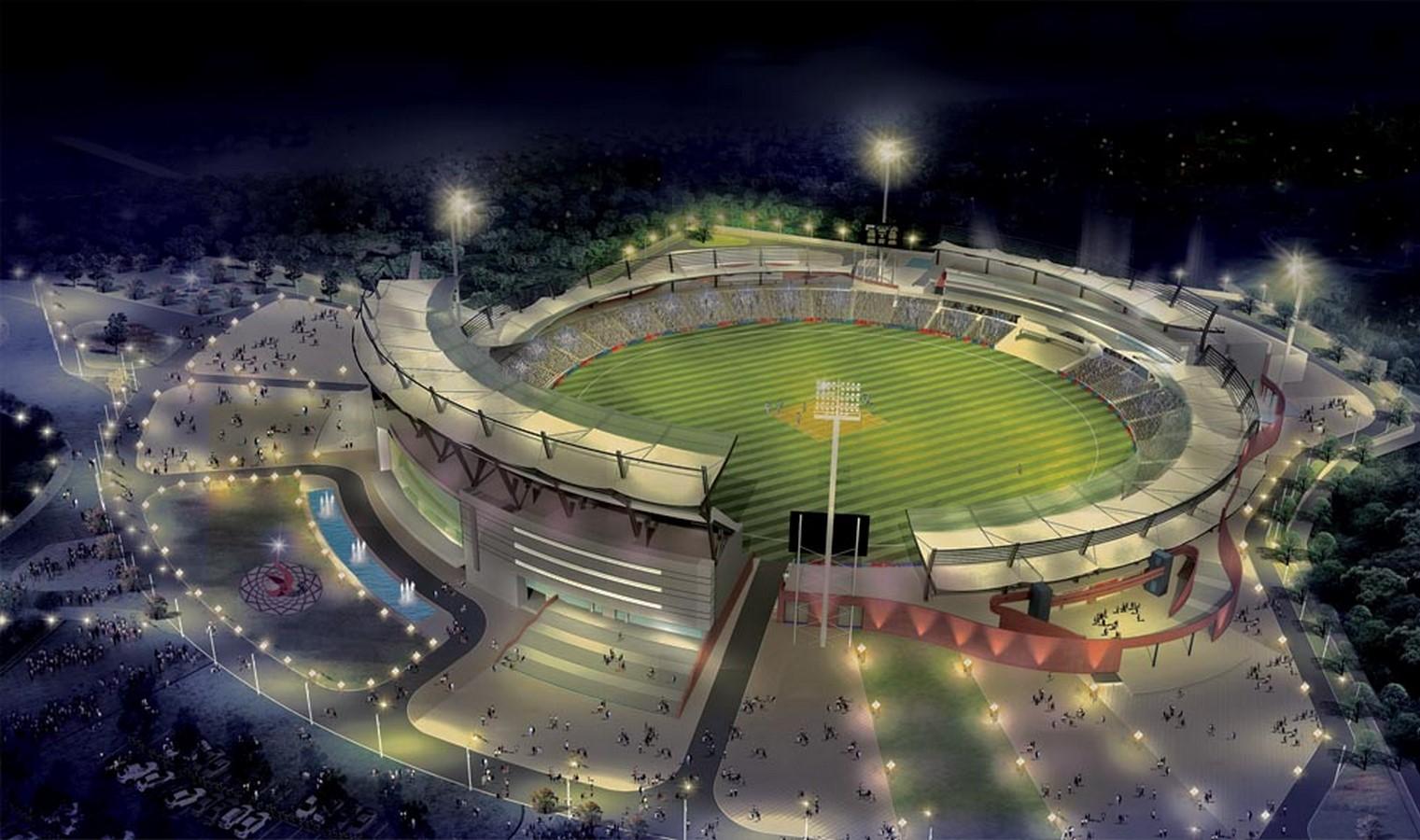 Rajiv Gandhi International Cricket Stadium by Shashi Prabhu: One of India's most popular cricket stadiums - Sheet1