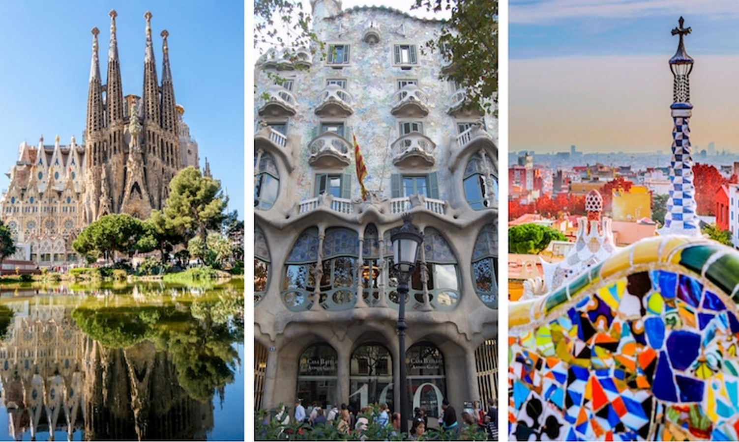 First and Last structures by Antoni Gaudi- Evolution of Design - Sheet1