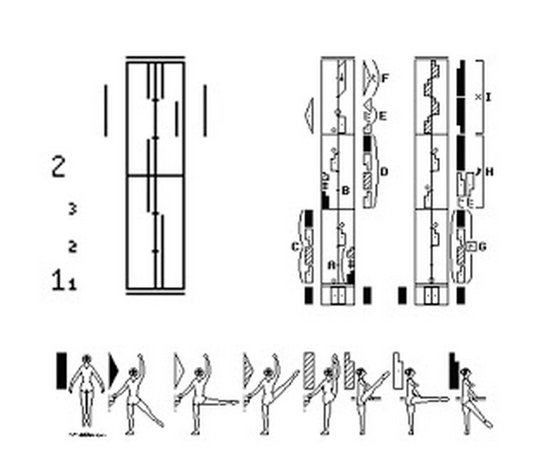 The Similarity between architecture and dance - Sheet 22