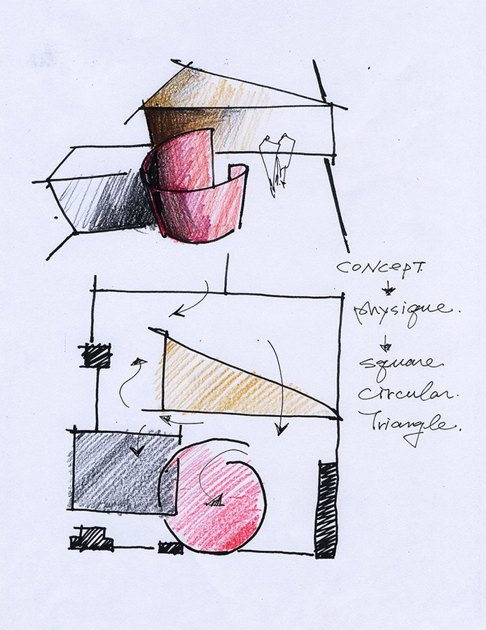The Similarity between architecture and dance - Sheet 9