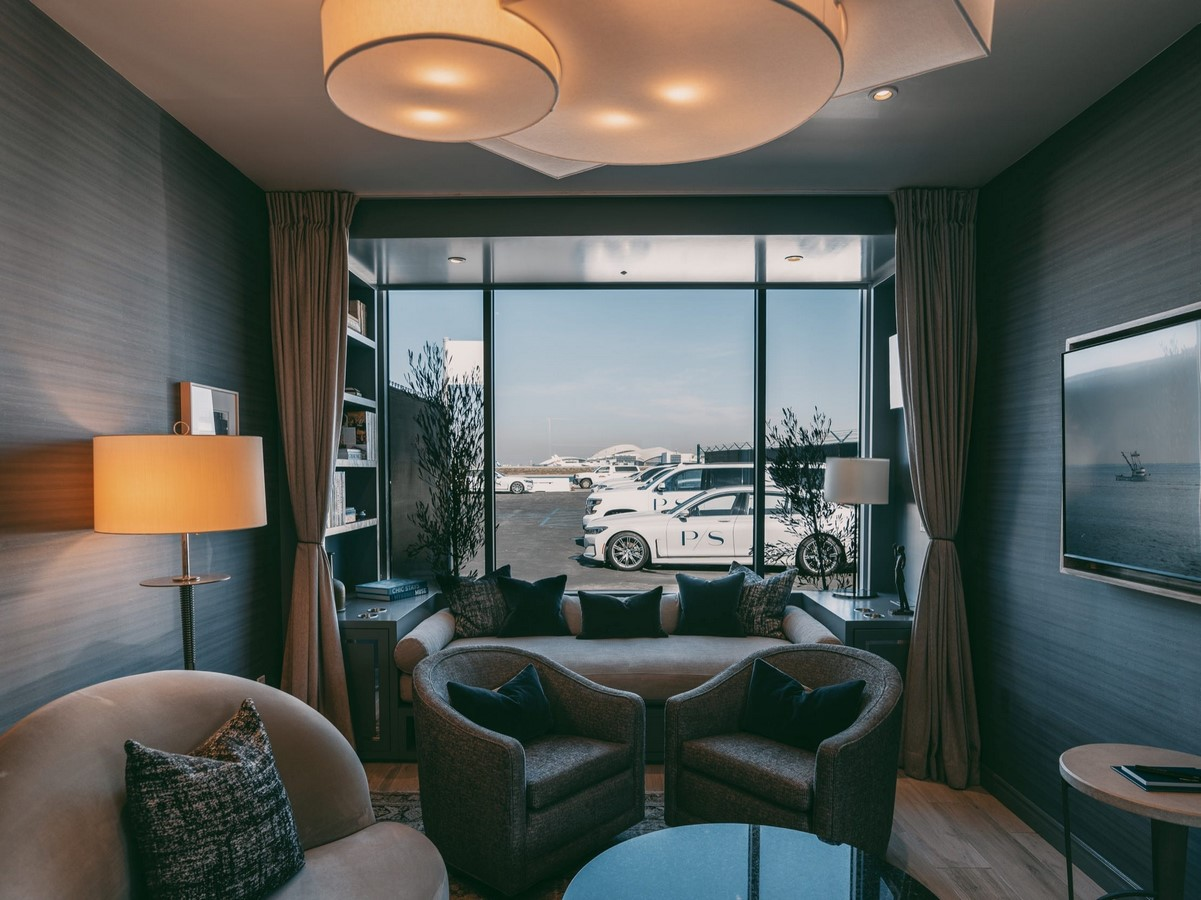 Private Suite, LAX, Los Angeles - Sheet1