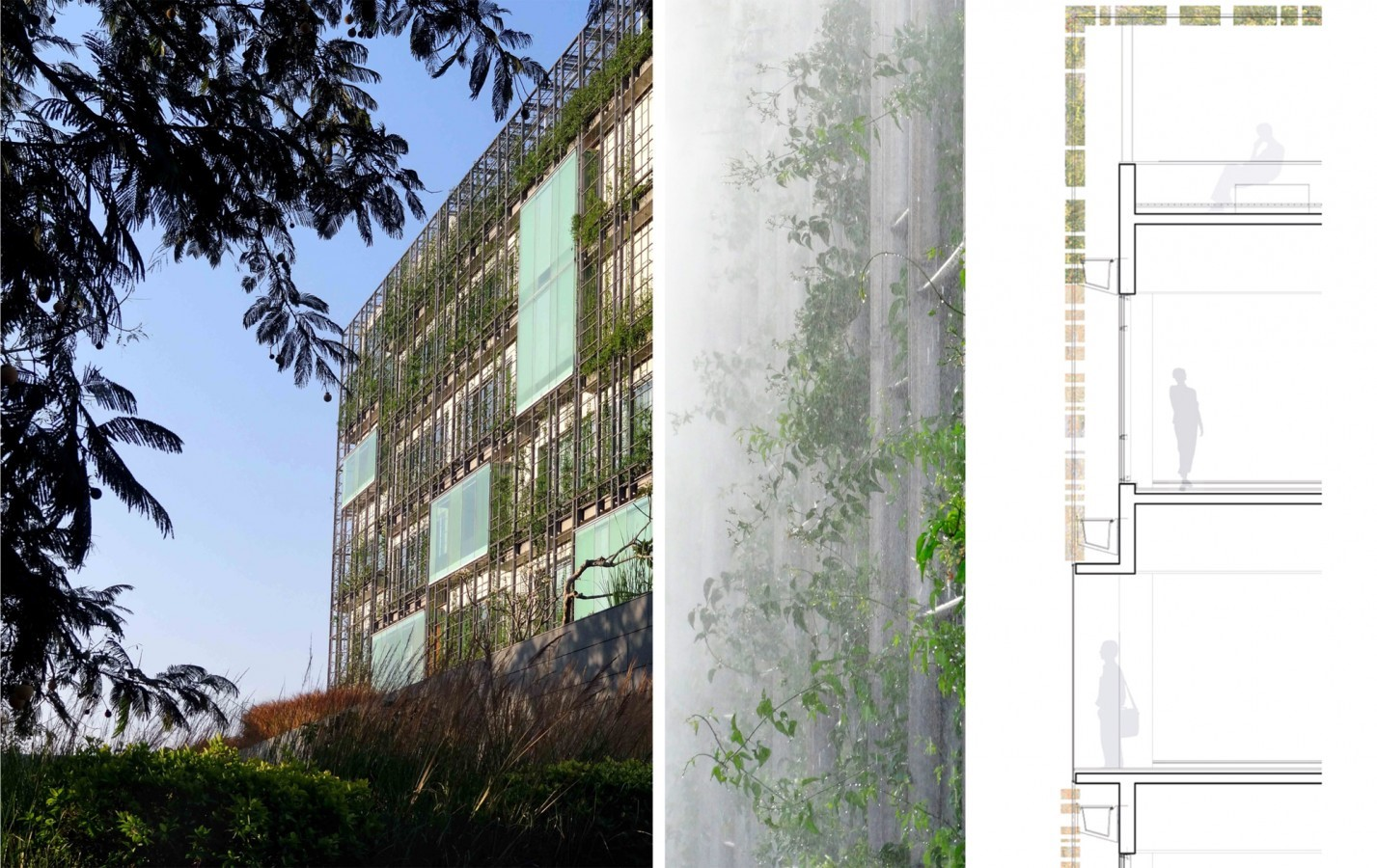 KMC Corporate Office by Rahul Mehrotra: Modulation of light and air - Sheet1
