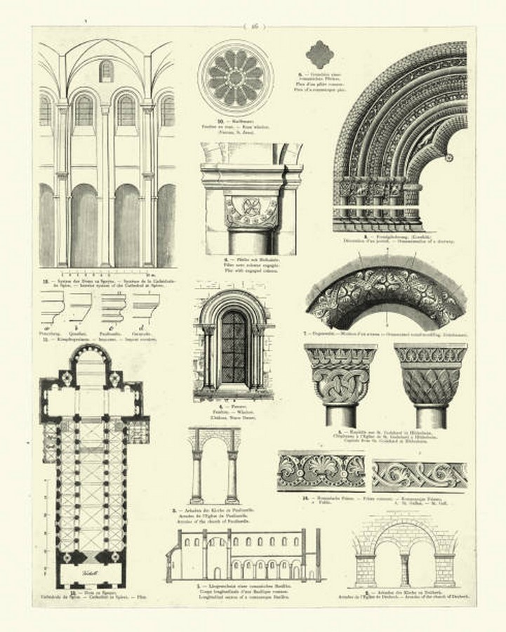 Theory in Architecture: Ornament - Sheet7