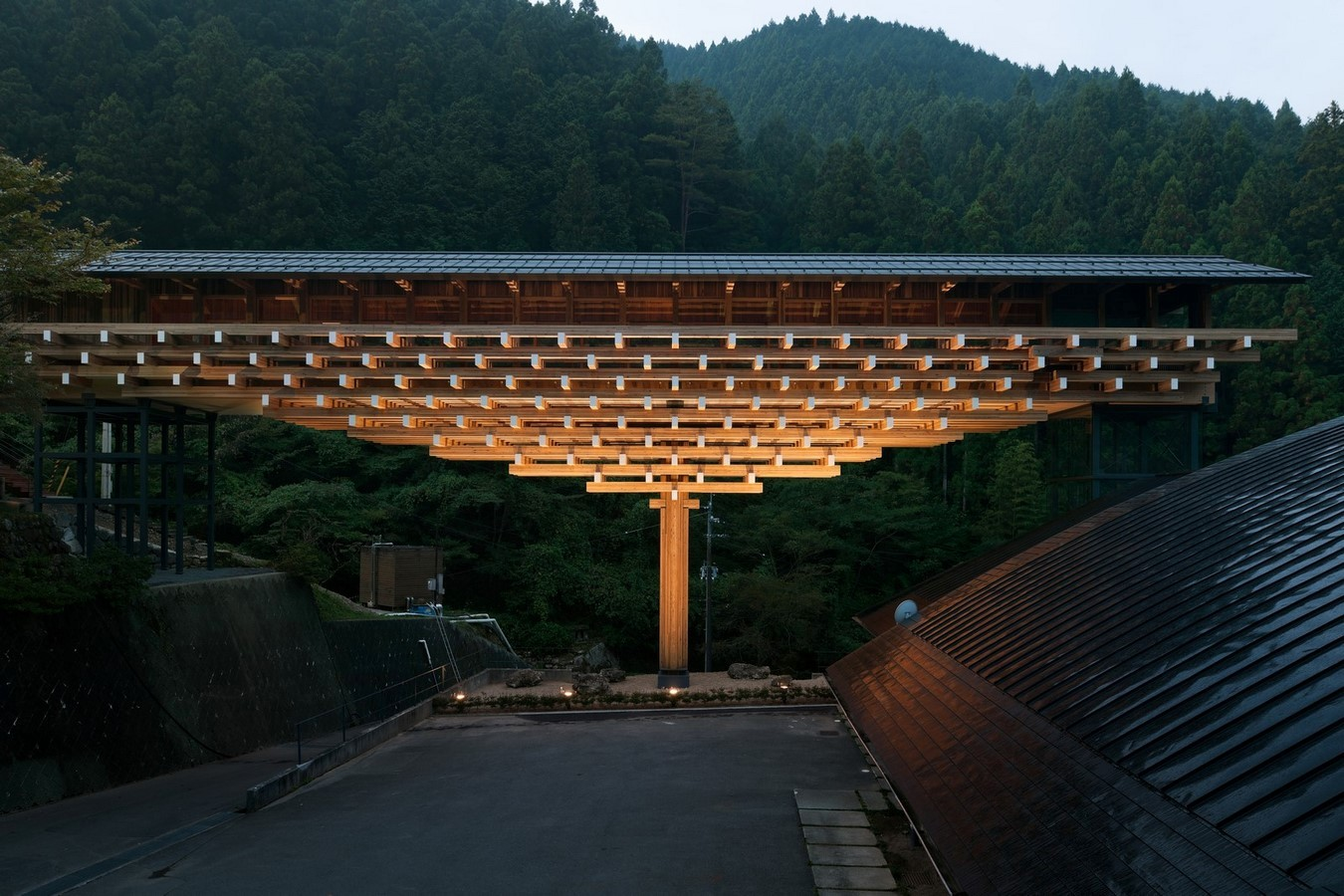 Yusuhara Wooden Bridge Museum - Sheet1