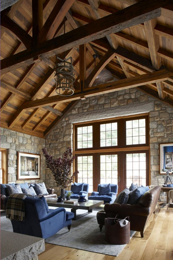 30 Examples of Rustic interiors for living rooms - Sheet1