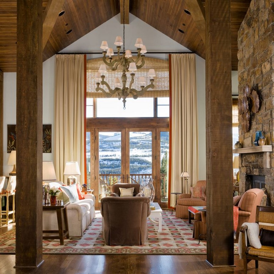 30 Examples of Rustic interiors for living rooms - Sheet10