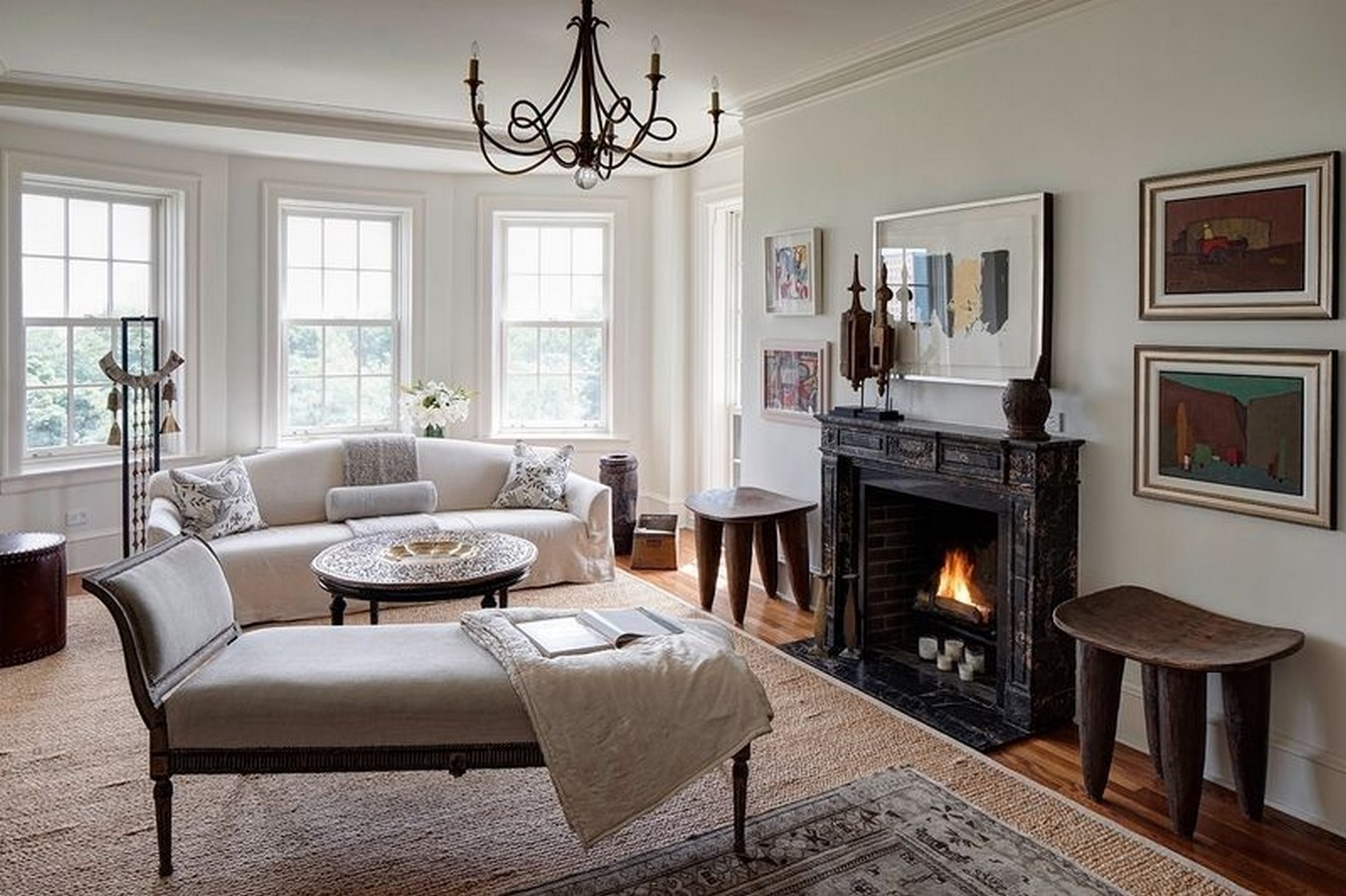30 Examples of Rustic interiors for living rooms - Sheet11