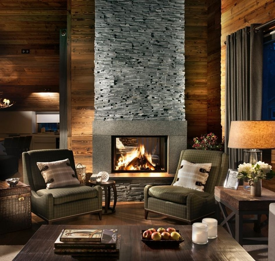 30 Examples of Rustic interiors for living rooms - Sheet12