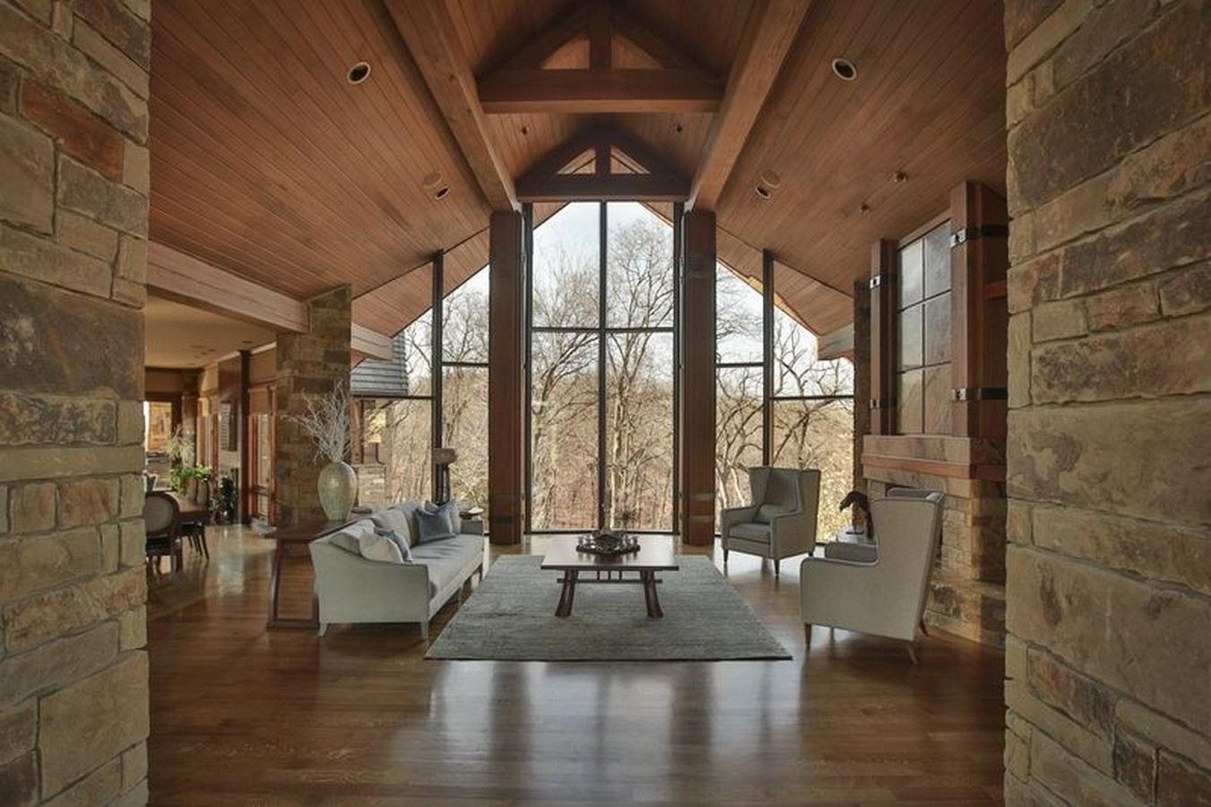 30 Examples of Rustic interiors for living rooms - Sheet16
