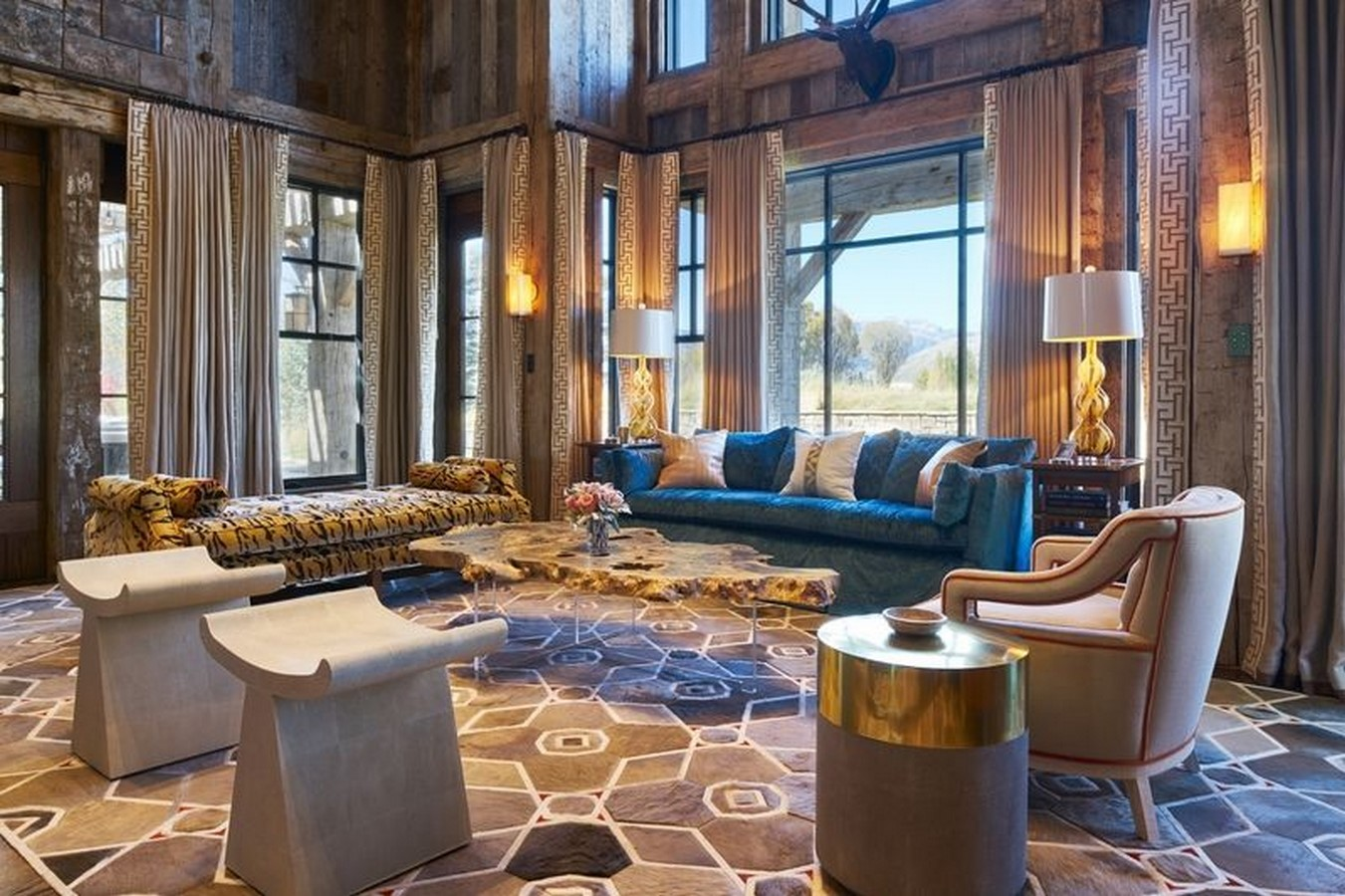 30 Examples of Rustic interiors for living rooms - Sheet17