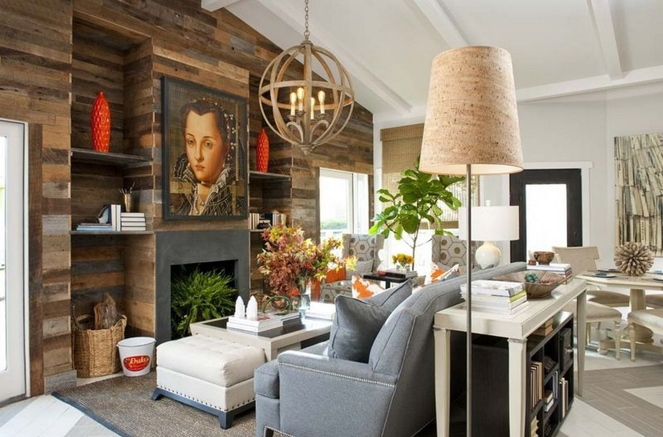 30 Examples of Rustic interiors for living rooms - Sheet22