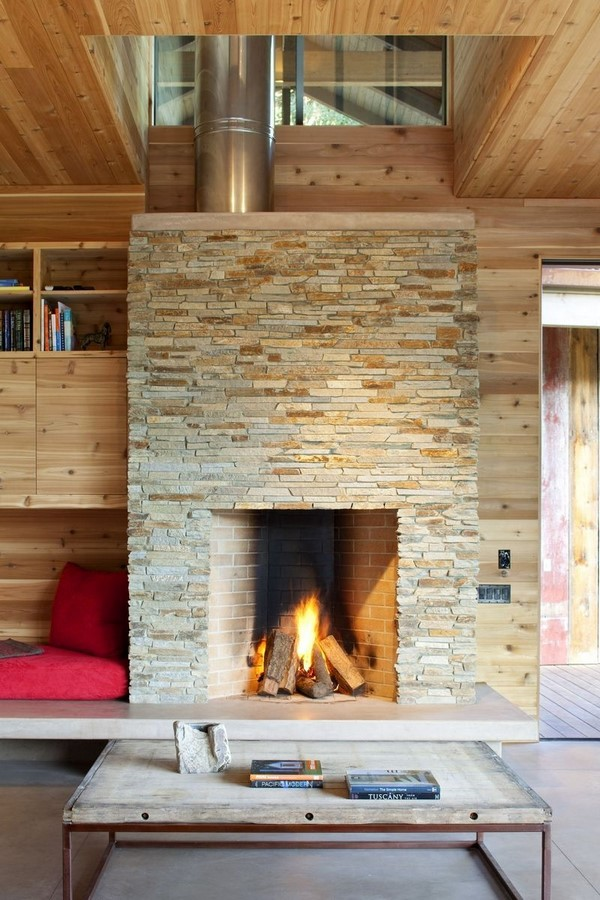 30 Examples of Rustic interiors for living rooms - Sheet23