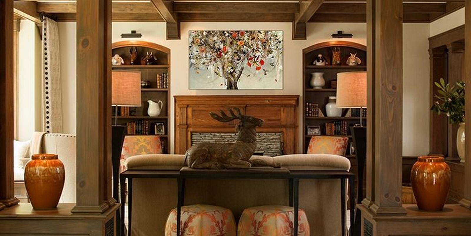 30 Examples of Rustic interiors for living rooms - Sheet25