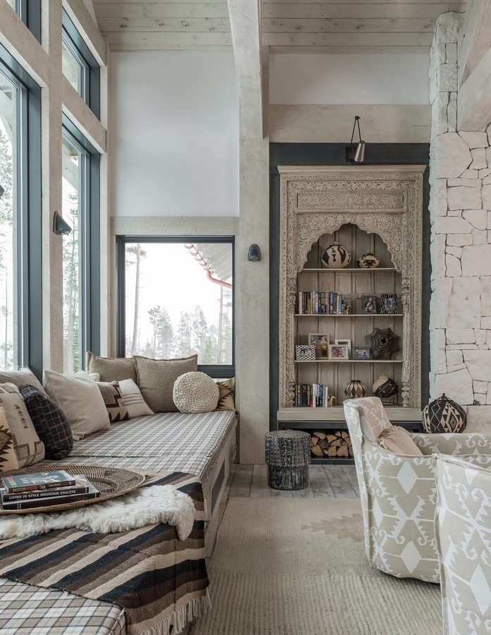 30 Examples of Rustic interiors for living rooms - Sheet29