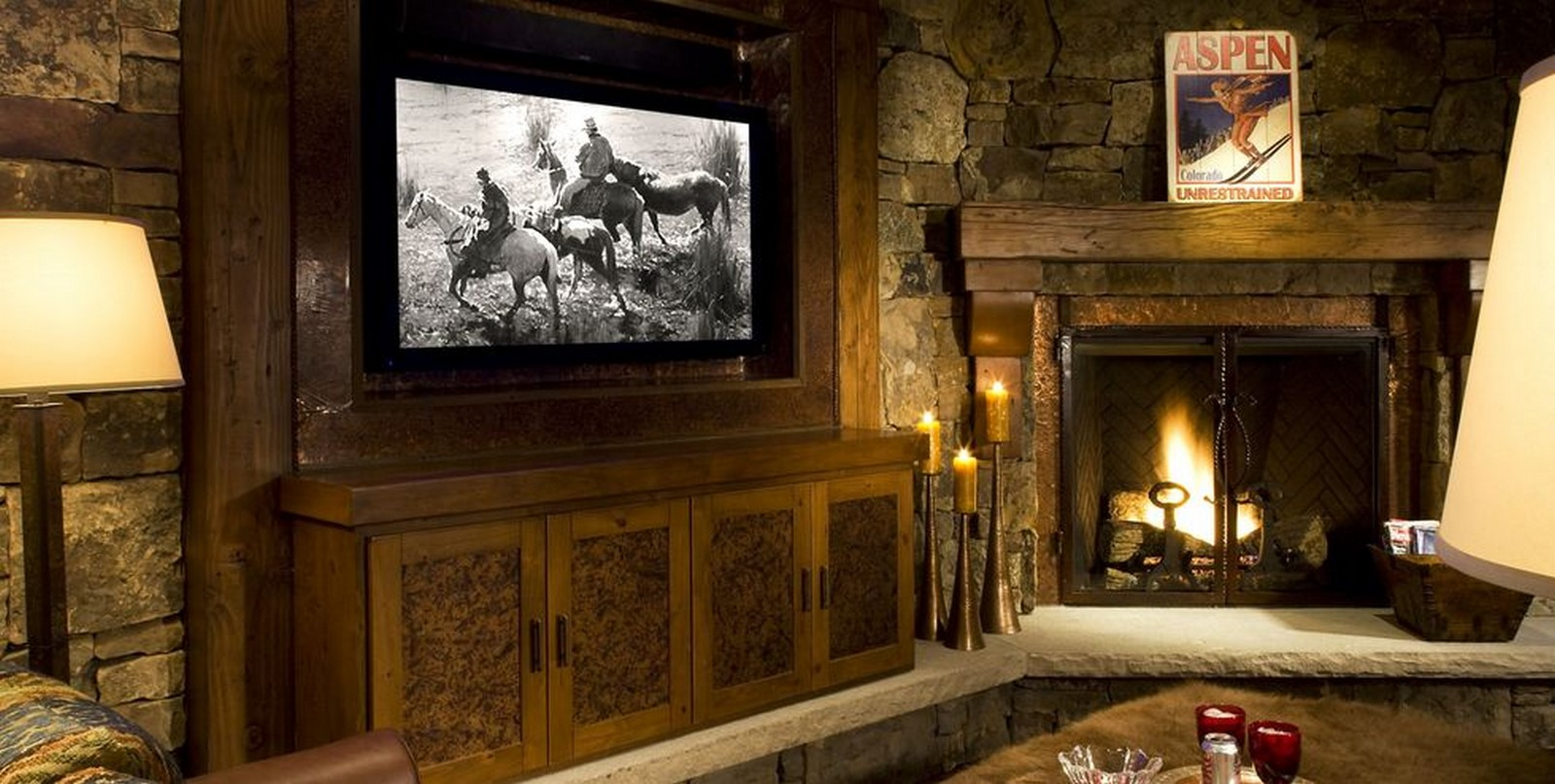 30 Examples of Rustic interiors for living rooms - Sheet3