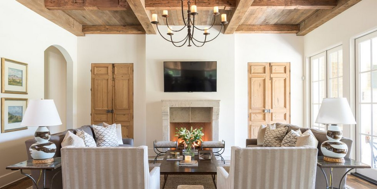 30 Examples of Rustic interiors for living rooms - Sheet5