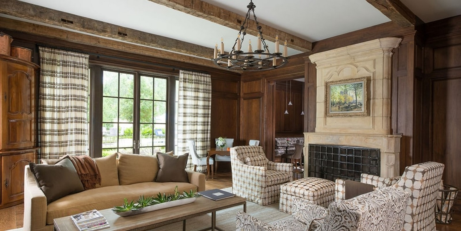 30 Examples of Rustic interiors for living rooms - Sheet7