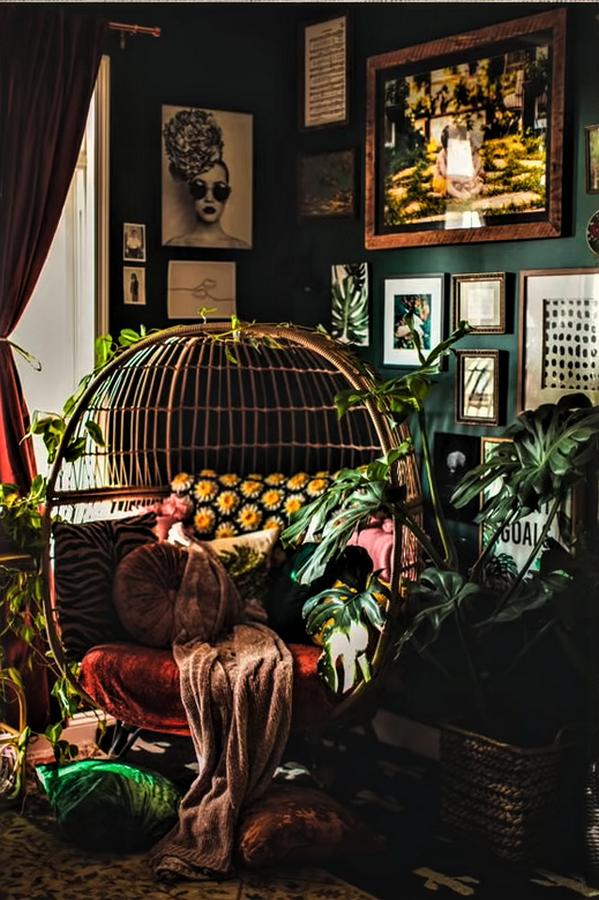 15 Tips for designing Boho Style Interiors - Sheet13