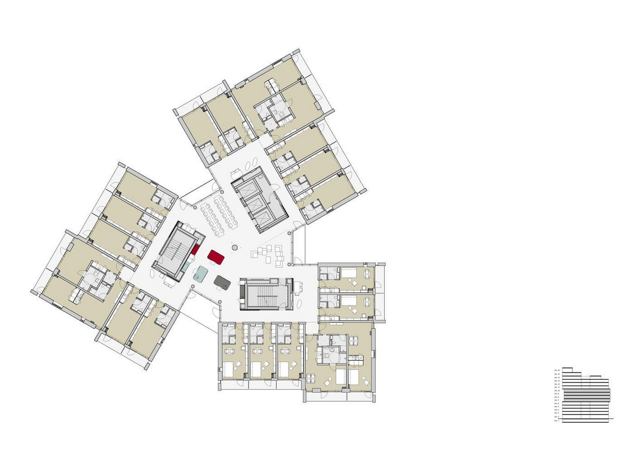 20 Examples of modern student housing - Sheet17