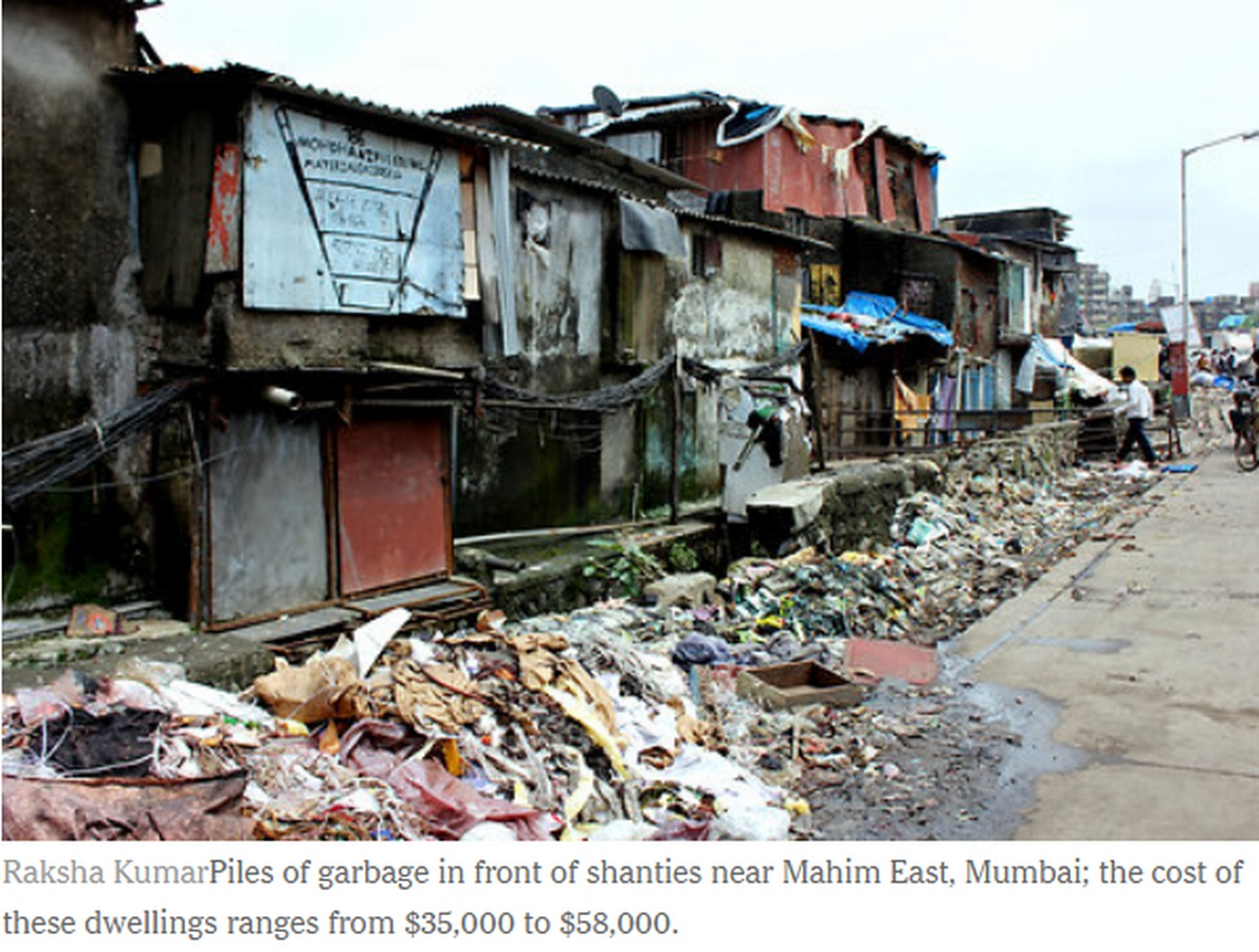 The economic impact of slums in cities - Sheet1