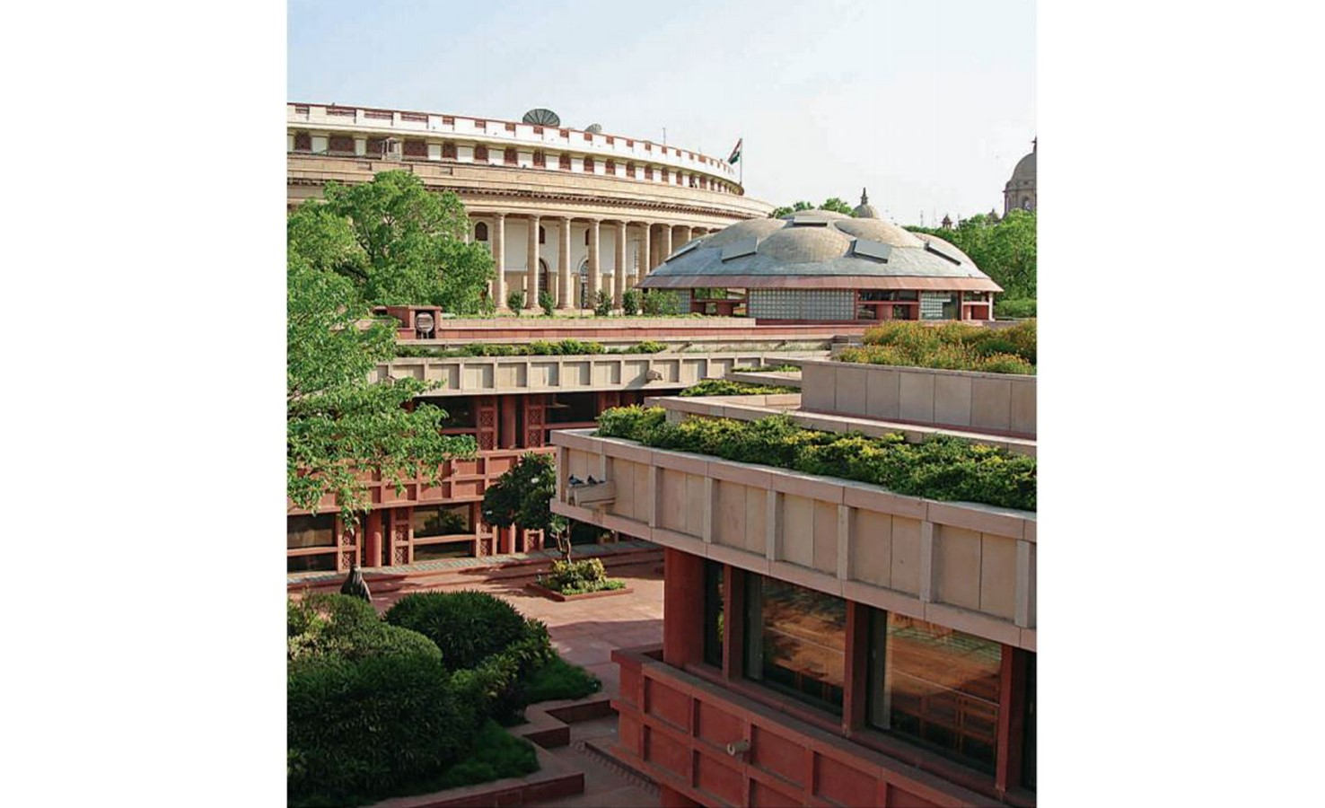Parliament Library Building by Raj Rewal: Enlightenment translated into architecture - Sheet3