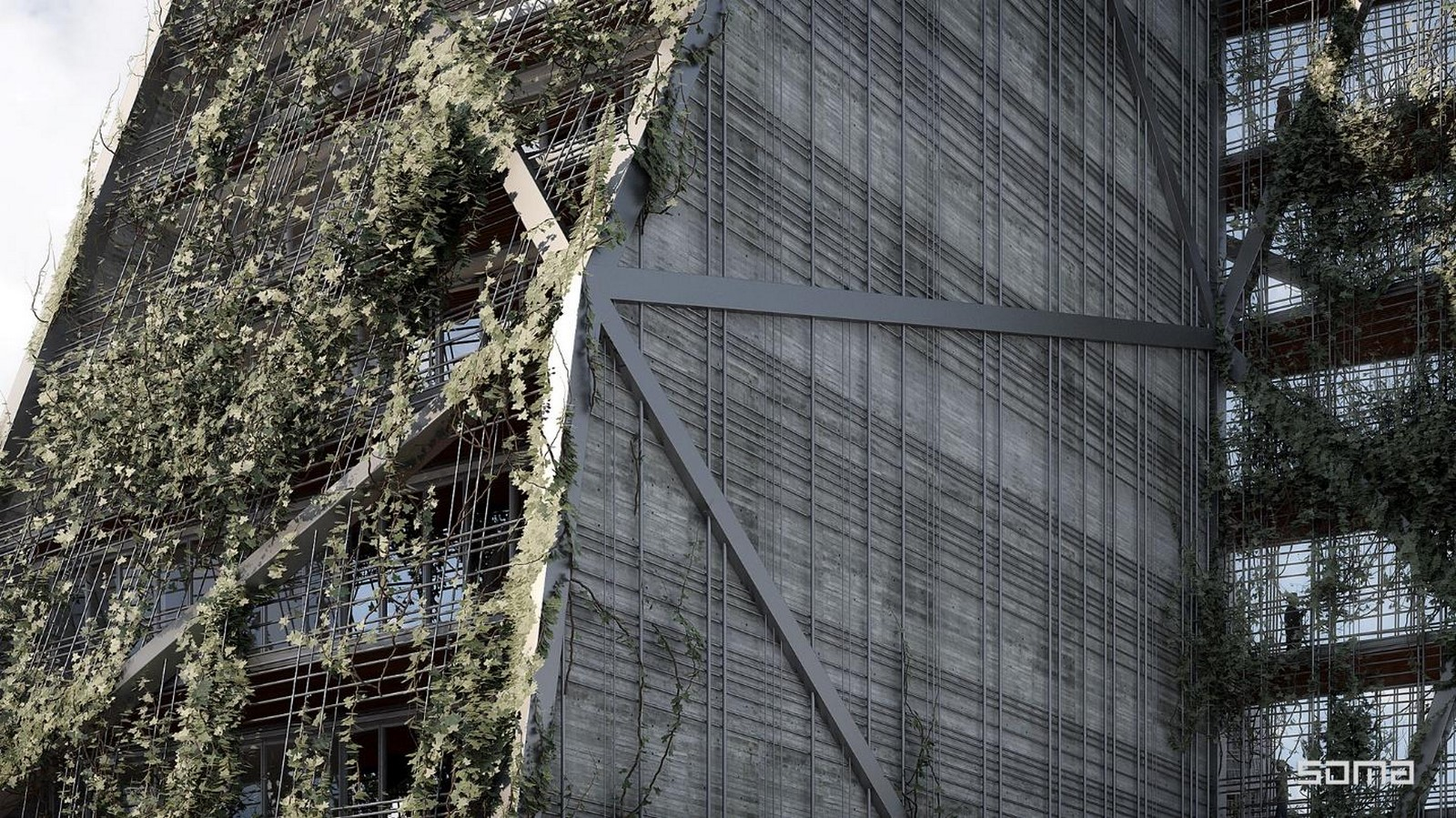 Pollux and Castor by SOMA: The Chiseled architecture - Ssheet4