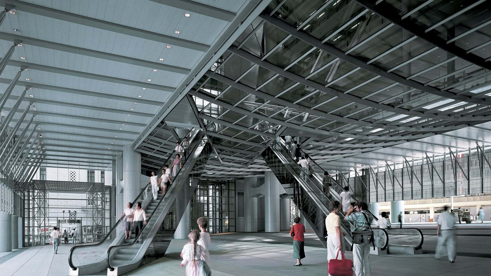 HSBC Building by Norman Foster: Missing internal support structure - Sheet11