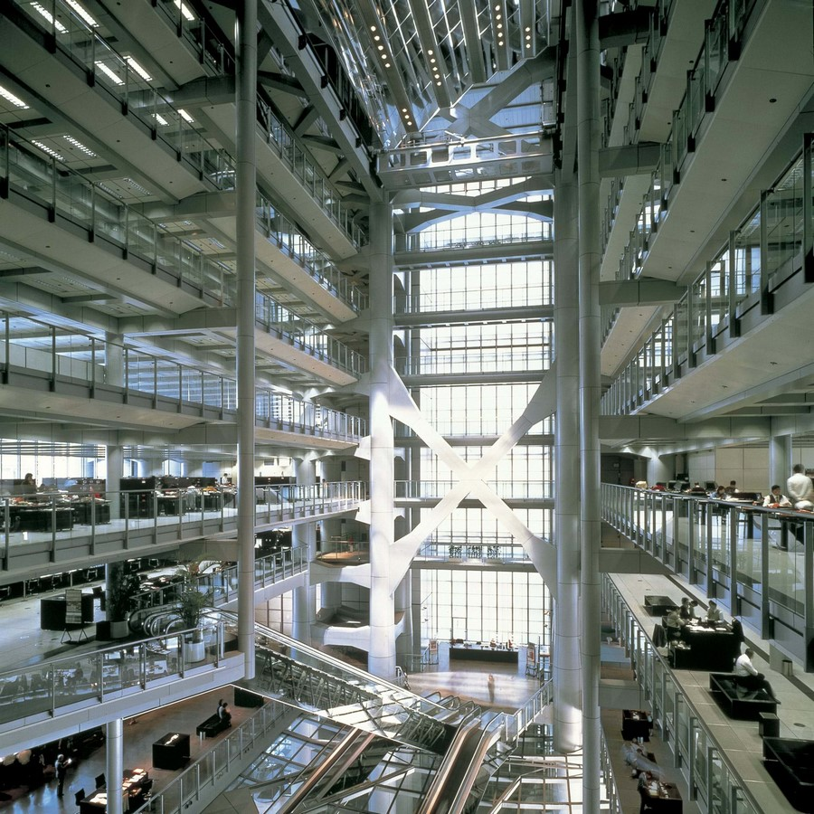 HSBC Building by Norman Foster: Missing internal support structure - Sheet55