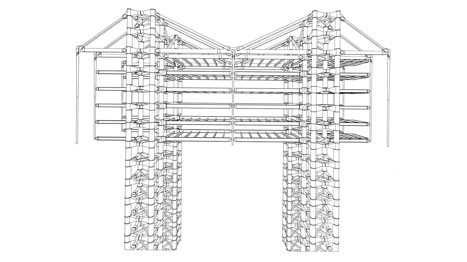HSBC Building by Norman Foster: Missing internal support structure - Sheet7