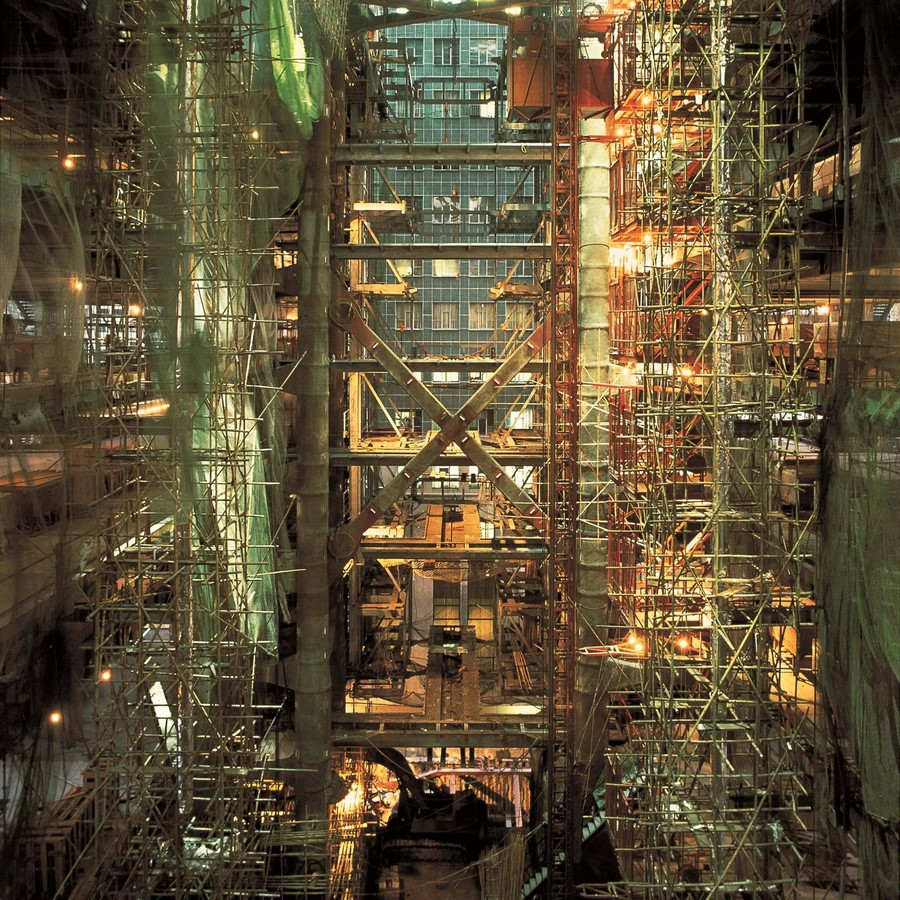 HSBC Building by Norman Foster: Missing internal support structure - Sheet9