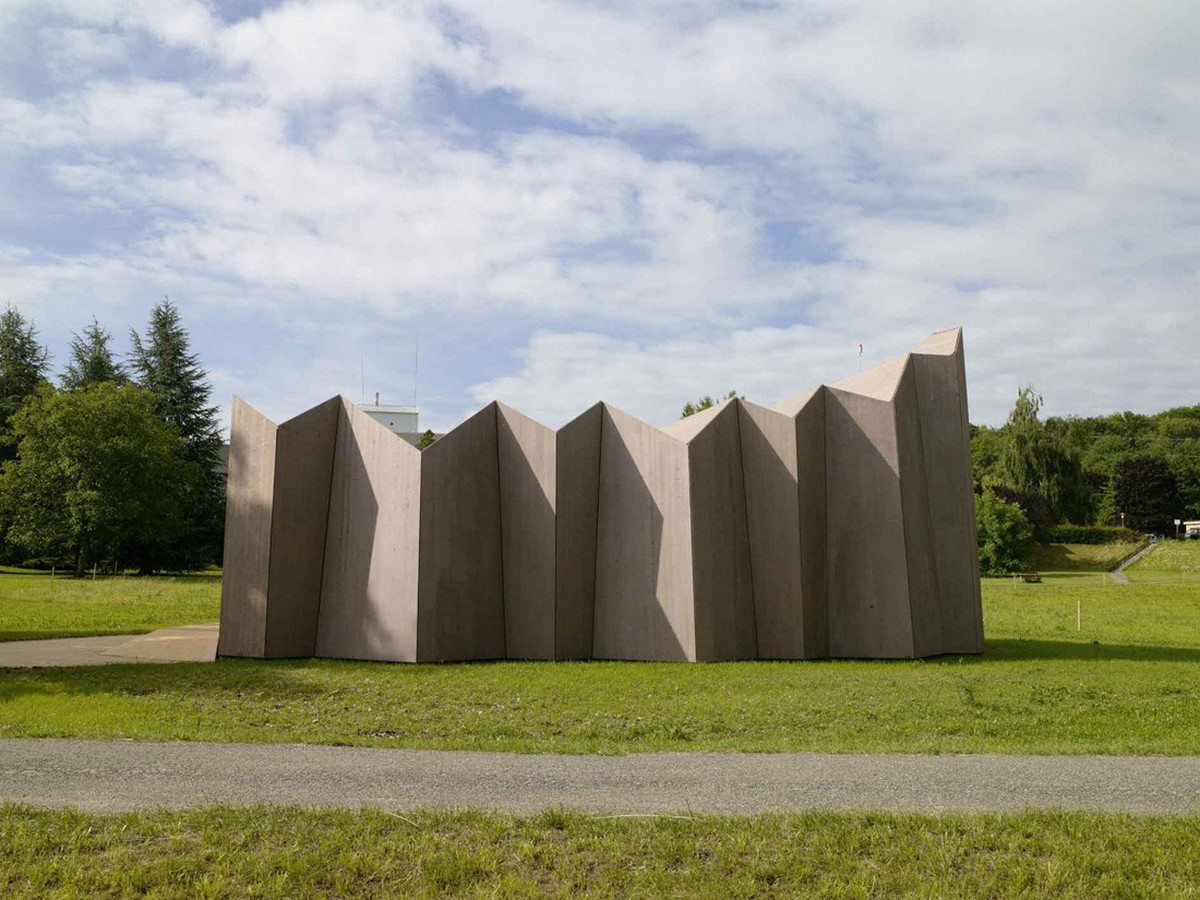 10 Examples where Origami meets Architecture - Sheet4