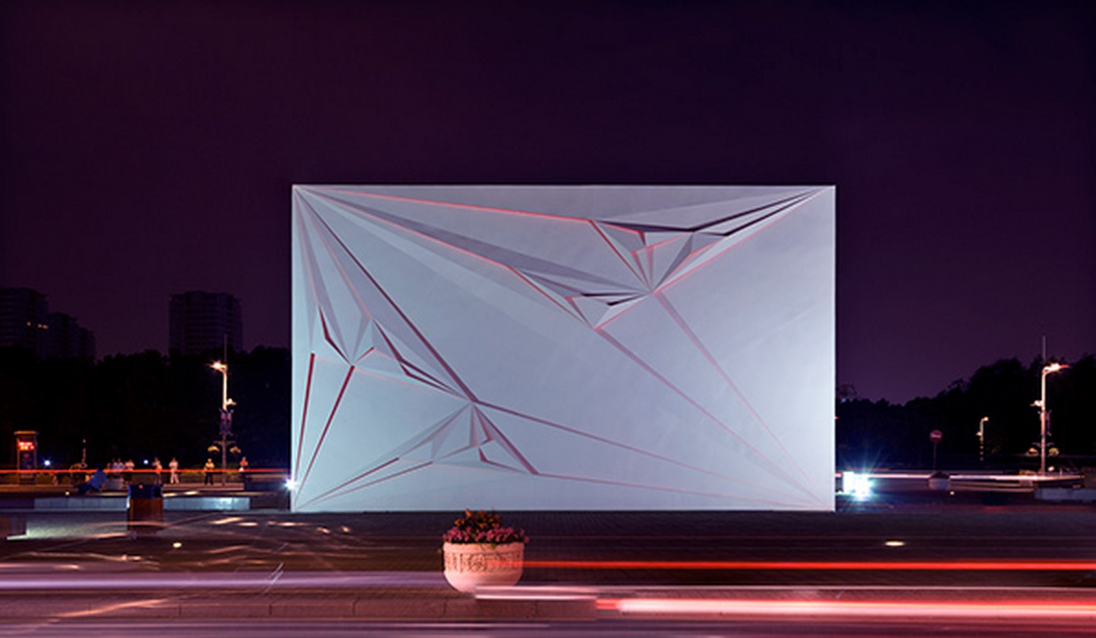 10 Examples where Origami meets Architecture - Sheet5