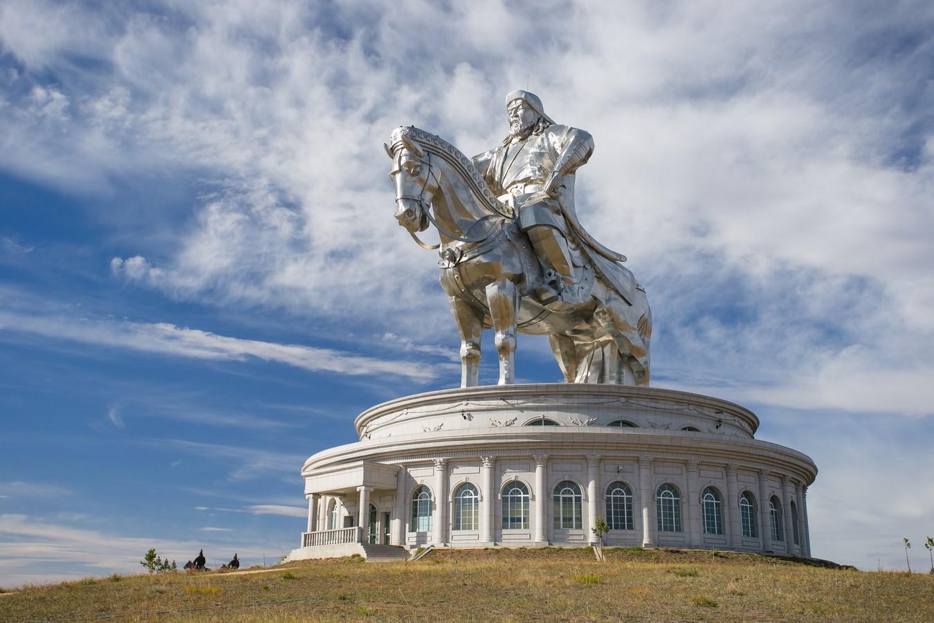 Genghis Khan Equestrian Statue - Sheet1