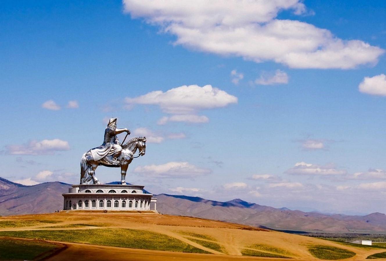 Genghis Khan Equestrian Statue - Sheet2