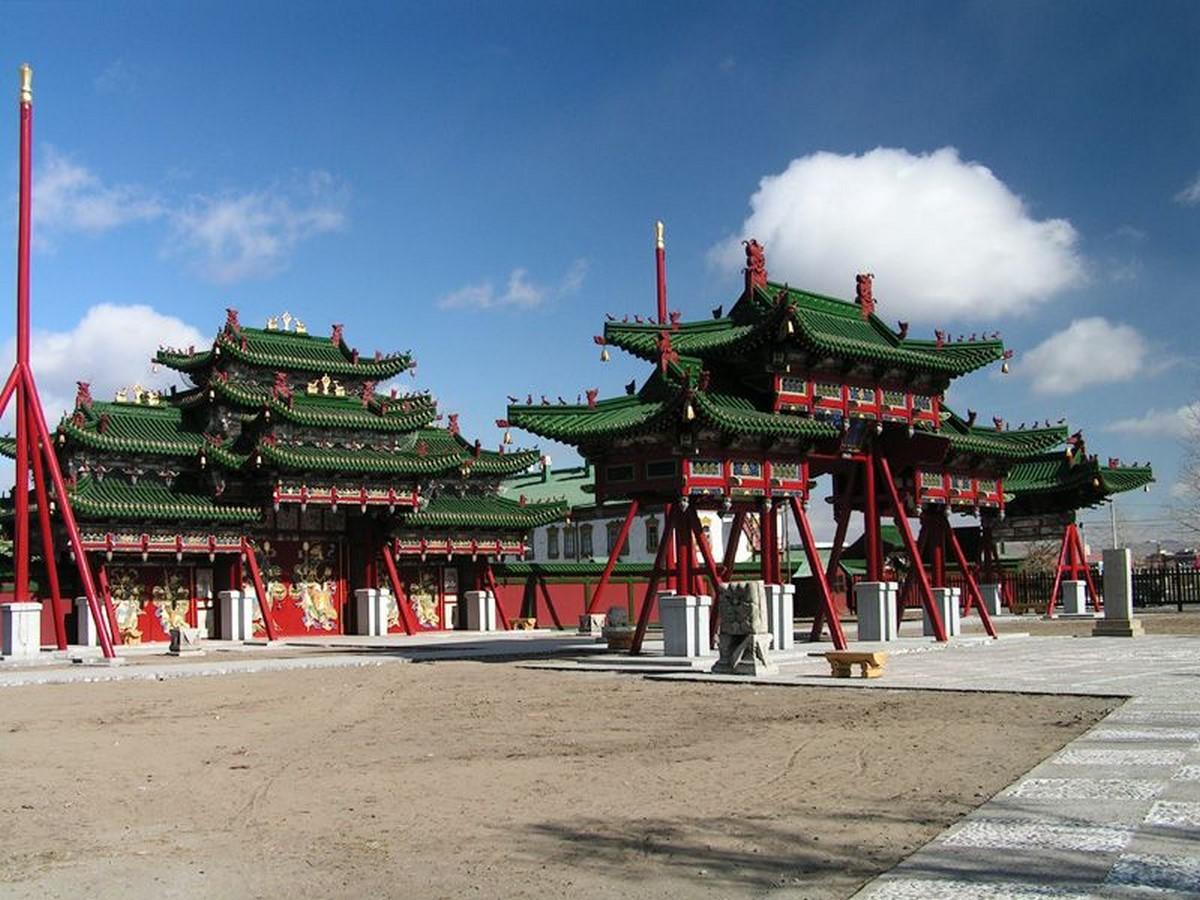 Winter Palace of Bogd Khan - Sheet2