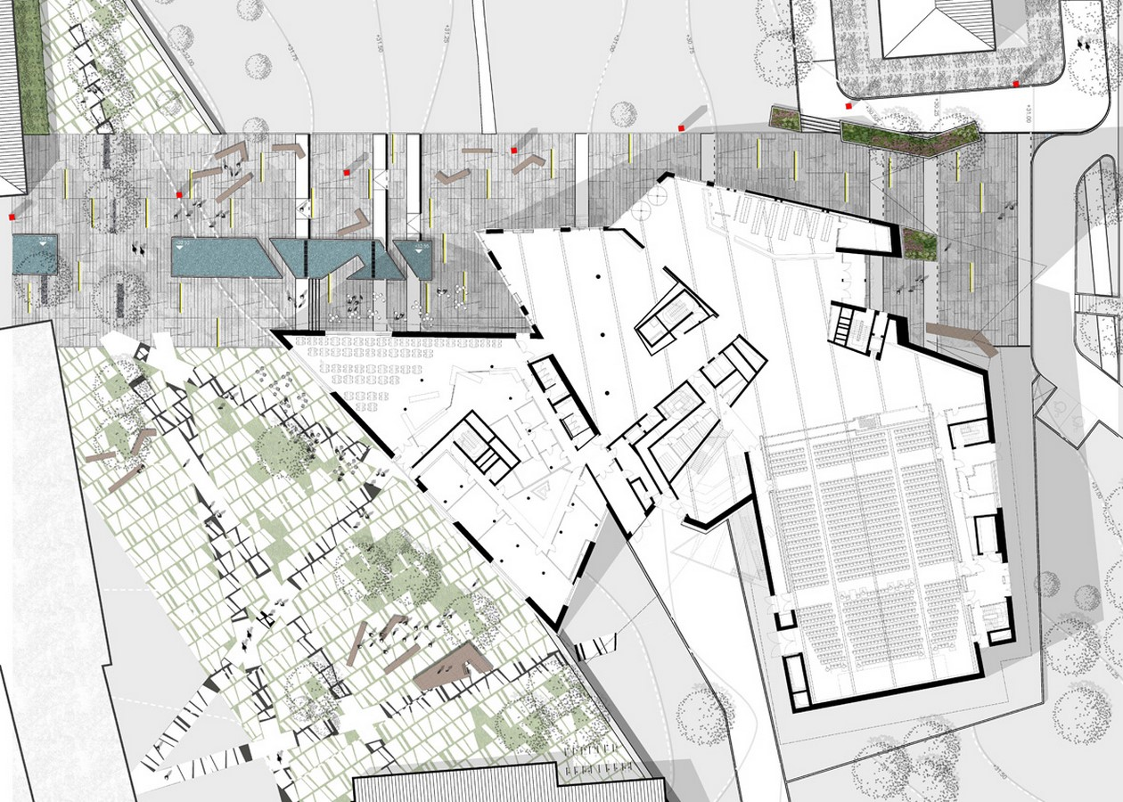 Zentralgebäude by Daniel Libeskind: An Ambitious Project - Sheet2